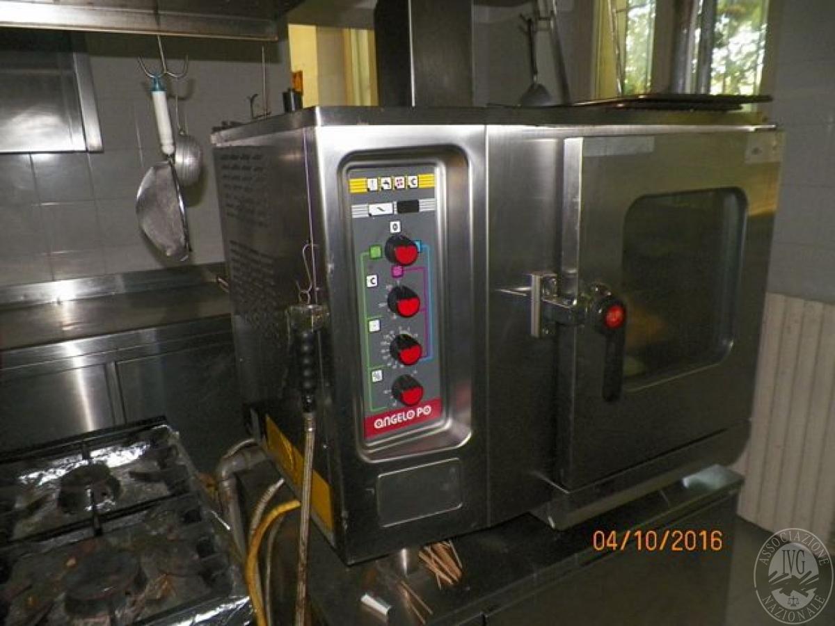 Forno multifunzione con cottura a vapore con chiusura e maniglione in vetro e acciaio - Forno con cottura a vapore ...
