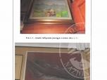 Immagine di quadri, sveglia, vari fermacravatte