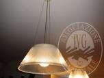 Immagine di NR. 2 LAMPADE A SOSPENSIONE MARCA FLOS MODELLO 'ROMEO MOON';
