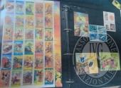 Francobolli da collezione: Russia (lotto 112) un raccoglitore con 466 francobolli nuovi in foglietti