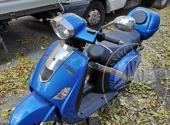 Motociclo Lambretta targato DT 96181