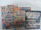 Francobolli da collezione: Repubblica Francese (lotto 121) due raccoglitore con 2.600 francobolli nuovi