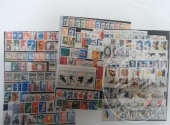 Francobolli da collezione: Repubblica democratica tedesca (lotto 122) un raccoglitore con 870 francobolli nuovi dal 1955 al 1989