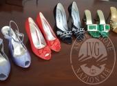 Circa 100 paia di scarpe vari modelli e misure - vendita a prezzi ribassati