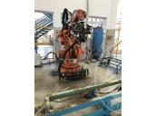 Immagine di robot saldatura, gru bandiera, muletti, cabina di trasformazione elettrica, ecc