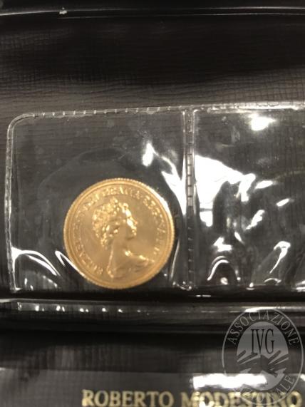 Lotto n.9 Sterlina in oro